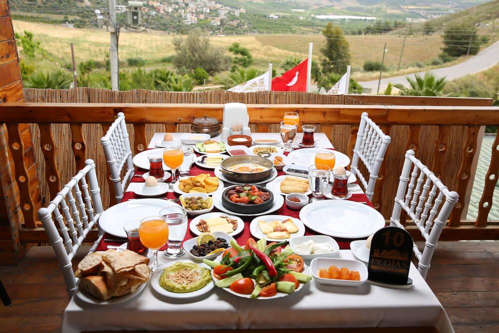 pedias concept harika kahvaltı salonu